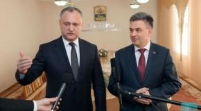 Ce au discutat Dodon și Krasnoselski la Tighina