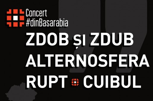Concert #dinBasarabia, de Ziua Unirii cu România