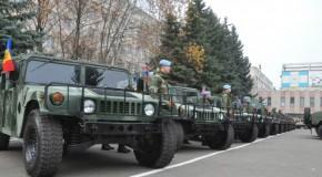 Armata Rep. Moldova, dotată cu tehnică militară americană
