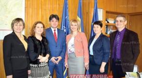 Parteneriate între școlile din Vaslui și cele din Rep. Moldova