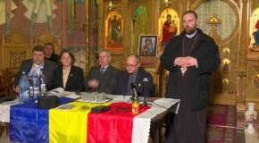 Preotul basarabean Vasile Țepordei, omagiat la Parohia Mărcuța din București