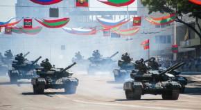 """Separatiștii de la Tiraspol sărbătoresc două istorii: cea falsificată și cea """"privatizată"""" Moscovei"""