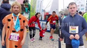 """Ministru de la Chișinău, participant la Maratonul Nisipului din România: """"Alerg pentru Unire"""""""