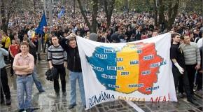 Flashmob la Ambasada Rep. Moldova din București. 7 aprilie 2009: Sacrificiul protestatarilor din Chișinău, startul procesului de Reunire