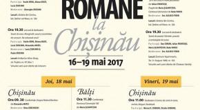 Zilele Literaturii Române la Chișinău, Cahul și Bălți