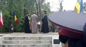 Ziua Independenței României la Chișinău: Parastas în memoria soldaților români căzuți în timpul cele două războaie mondiale