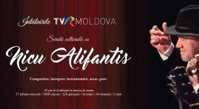 Nicu Alifantis, seară culturală la Chișinău