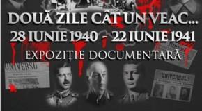 """Expoziție documentară la București: """"Două zile cât un veac: 28 iunie 1940 – 22 iunie 1941"""""""