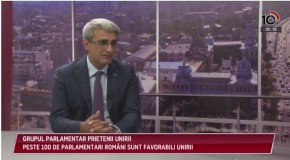 Deputat de la București: 80% dintre români sunt pentru Unire, iar în Rep. Moldova filonul unionist este în creștere