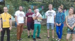 Punte peste Prut: Unioniștii din Galați, alături de micuțul Ciprian din satul Brînza
