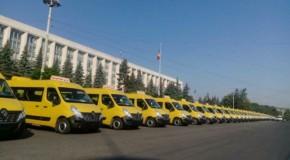 România, o nouă donație de microbuze școlare către Rep. Moldova