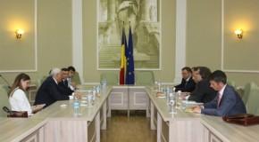 Ministrul Justiției de la Chișinău, întrevedere cu președintele Curții Constituționale de la București