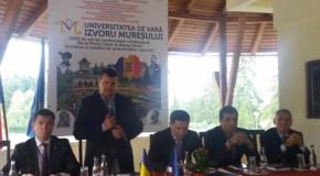 """Tomac, la Izvoru Mureşului: """"Dodon trebuie pus la punct ori de câte ori atacă statul român"""""""
