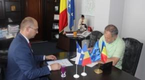 O nouă înfrăţire România-Rep. Moldova: judeţul Vaslui şi raionul Nisporeni