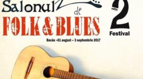 Artiști de muzică folk și blues din România și Republica Moldova, pe aceeași scenă la Bacău