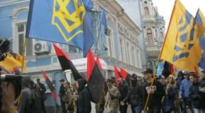 Naționaliștii ucraineni, manifestație anti-românească pe străzile din Cernăuți