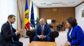Rectorul Universității Babeș-Bolyai, primit la Chișinău de Pavel Filip