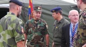 Un grup de expert internaționali au vizitat Armata Rep. Moldova. Ce au discutat în legătură cu armamentul