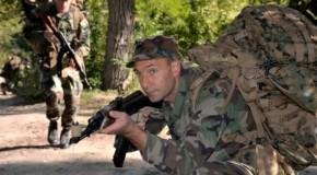 """Studenţii militari din Rep. Moldova participă, în premieră, la competiţia """"Cambrian Patrol"""" din Marea Britanie"""