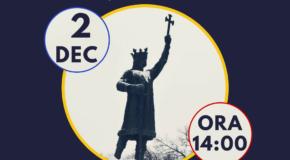 LIVE. A început Marşul Unirii la Chişinău