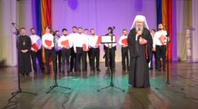 Concert de colinde şi muzică bizantină dedicat împlinirii a 25 de ani de la Reactivarea Mitropoliei Basarabiei