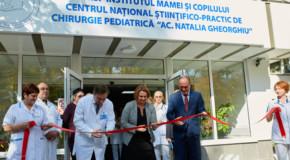 O nouă secție a Institutului Mamei și Copilului a fost renovată cu sprijinul financiar al României