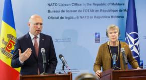 A fost inaugurat oficiul de legătură NATO din Rep. Moldova