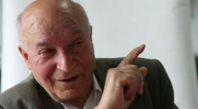Alexandru Moșanu, lider al mişcării de eliberare naţională din Republica Moldova, a trecut la cele veșnice