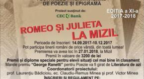 Autori de epigrame și poezii din Rep. Moldova și Cernăuți, oaspeți la Mizil