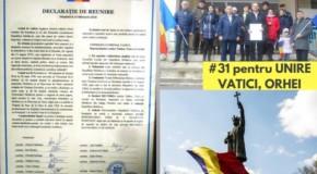 Încă Două declaraţii de Unire cu România: Cioreşti şi Vatici cer reîntregirea naţională