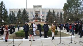 Alexandru Ioan Cuza și Mihai Viteazul, la loc de cinste în orașul Călărași din Rep. Moldova