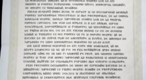 Băcioi a semnat Declarația de Unire cu România: Vrem să apropiem ziua revenirii la normalitate prin Reunirea cu Țara–Mamă