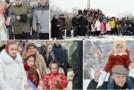 VIDEO. Parastas în cimitirul din comuna Mahala. 78 de ani la masacrul sovietic din Lunca Prutului