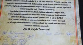 Deja 20! Și comuna Cucoara din raionul Cahul vrea Unirea