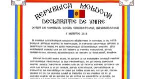 #100 pentru UNIRE! Rep. Moldova, tot mai aproape de România