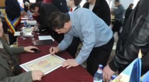 Prima Declarație de Unire semnată în comun de primari de pe ambele maluri de Prut