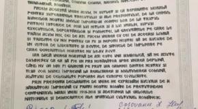 A 121-a localitate din Republica Moldova care a semnat o Declarație de Unire cu România