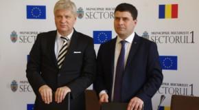 Sectorul 1 din București s-a înfrățit cu raionul Orhei