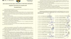 Sectorul 1 al Bucureştiului, vot pentru Reunire