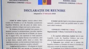 #120. Crihana cere Unirea cu România!