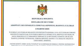 #84. Ce localităţi din Rep. Moldova au semnat astăzi Declaraţia de Unire cu România