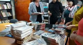 Donație de carte românească la Scoreni