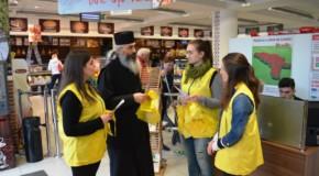 """Misiunea Diaconia a Mitropoliei Basarabiei. Mii de oameni au donat pachete alimentare pentru """"Masa Bucuriei"""""""