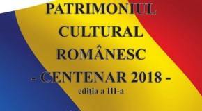 """Conferință la Chișinău: """"Patrimoniul cultural românesc – Centenar 2018"""""""