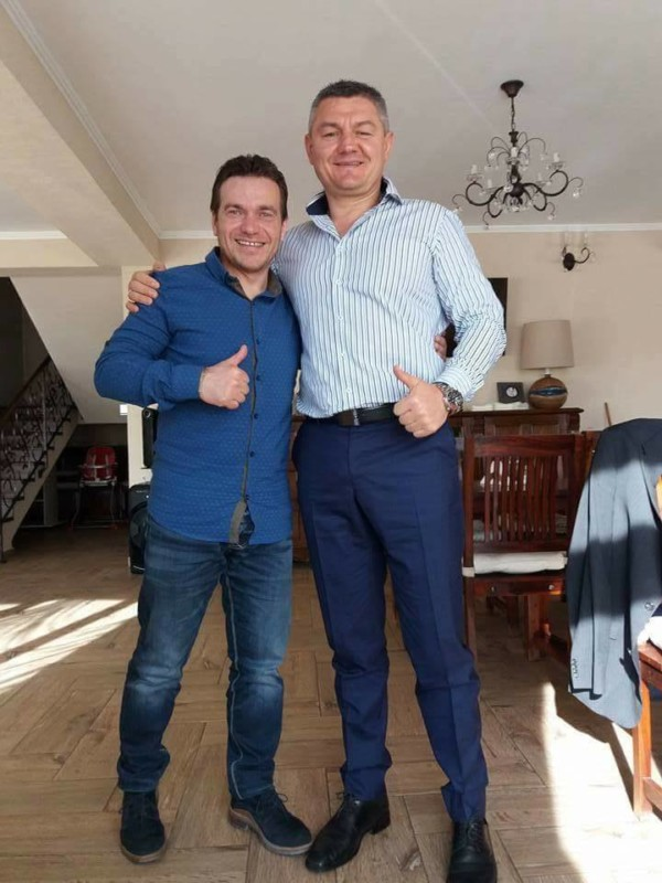 Avram Iancu și Ion Lazarenco Tiron