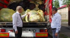 Primăria Sectorului 1 din București, 12 tone cu ajutoare pentru oamenii sărmani din raionul Orhei