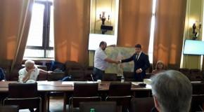 Harta României interbelice i-a pus pe jar pe diplomații ucraineni la București