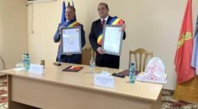 Un oraș din județul Sibiu s-a înfrățit cu un oraș din raionul Ștefan Vodă