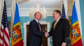 Ce au discutat la Washington premierul Republicii Moldova și secretarul de stat al SUA