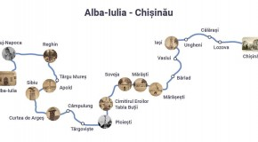 Reuniune istorică! România și Rep. Moldova aprind Flacăra Unirii la Alba Iulia